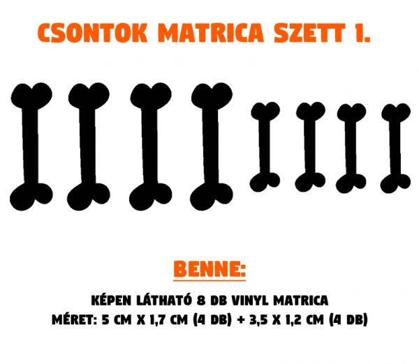 csontok matrica szett 01