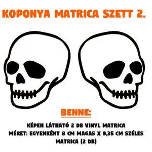 koponya matrica szett 2