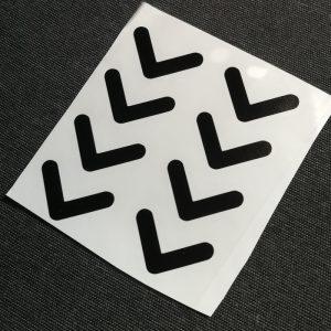 nyíl matrica szett 01 kép