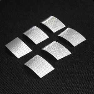 fényvisszverő palalelogramma matrica szett