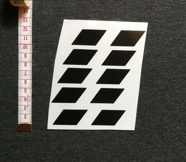 palalelogramma matrica szett magassága