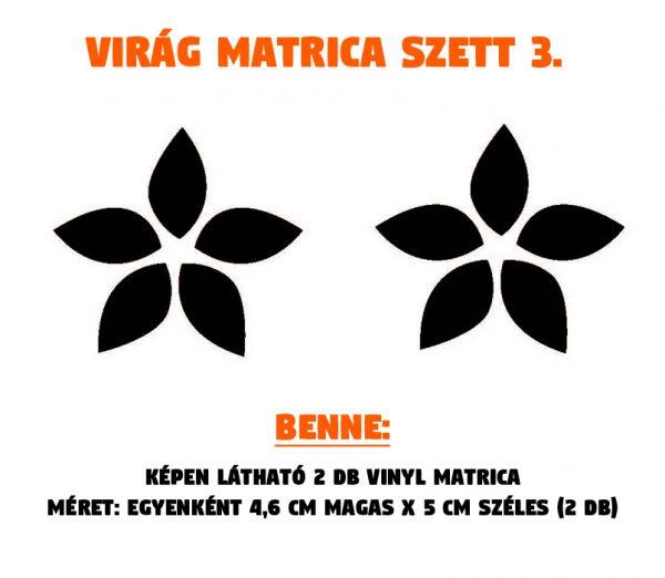 virág matrica szett 03