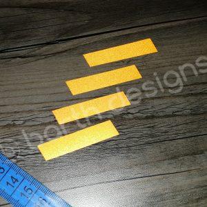 ferde csíkok 1 cm fényvisszaverő matrica 3