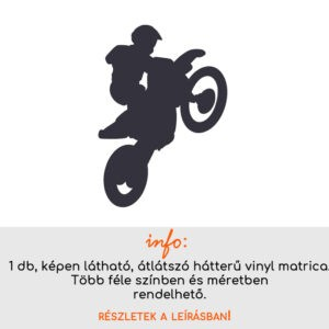 több méretben és színben motocross matrica 2.
