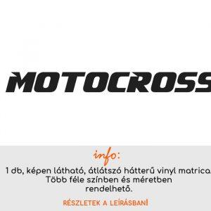 több méretben és színben motocross matrica autóra felirat 1.