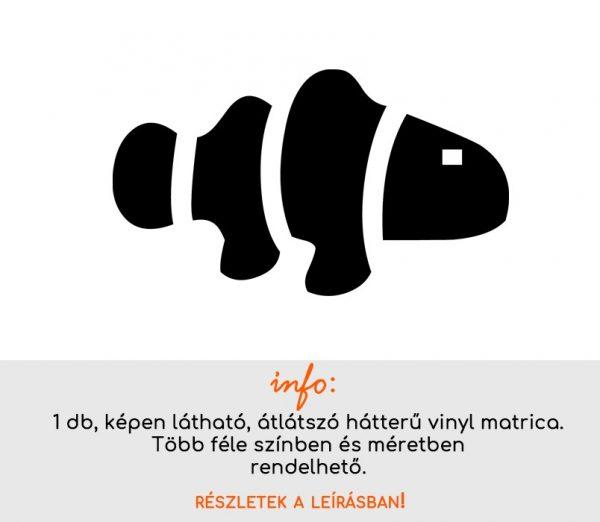 több színben és méretben fürdőszoba csempematrica hal matrica 2. Nemo