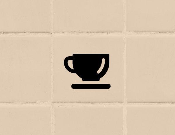 több színben és méretben konyhai csempematrica csésze látványterv