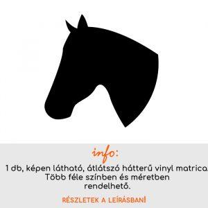 Több színben és méretben villanykapcsoló matrica, lovas matrica 1., állatos matrica